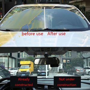 Image 5 - Araba cam anti sis ajan, yağmur geçirmez temizleyici araba pencere camı yağmur işareti yağ filmi sökücü sprey, banyo cam temizleyici 100ml