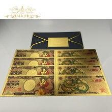 1 pces novo japão cédula 10,000 yen dinheiro de cédula para coleta