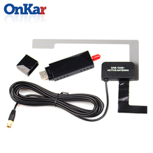 ONKAR Car FM Transmitter Car DAB With USB Adapter Receiver For Android Car Radio GPS Navigation For Europe Australia DAB Adapter free shipping usb glonass gps dual mode receiver for marine navigation gps trajectory acquisition