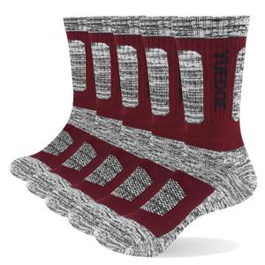 Image 5 - YUEDGE 5 pairs mens brand cotton breathable comfortable casual business warm thick socks mens crew socks dress socks