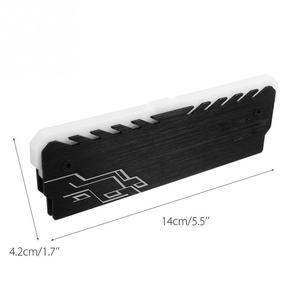 Image 2 - 4GB 8GB 1333 1600 Mhz DDR3 Memory RAM Cooling Vest Heatsink LED Cooler  Aura Sync RGB  MSI Mystic Light DDR4