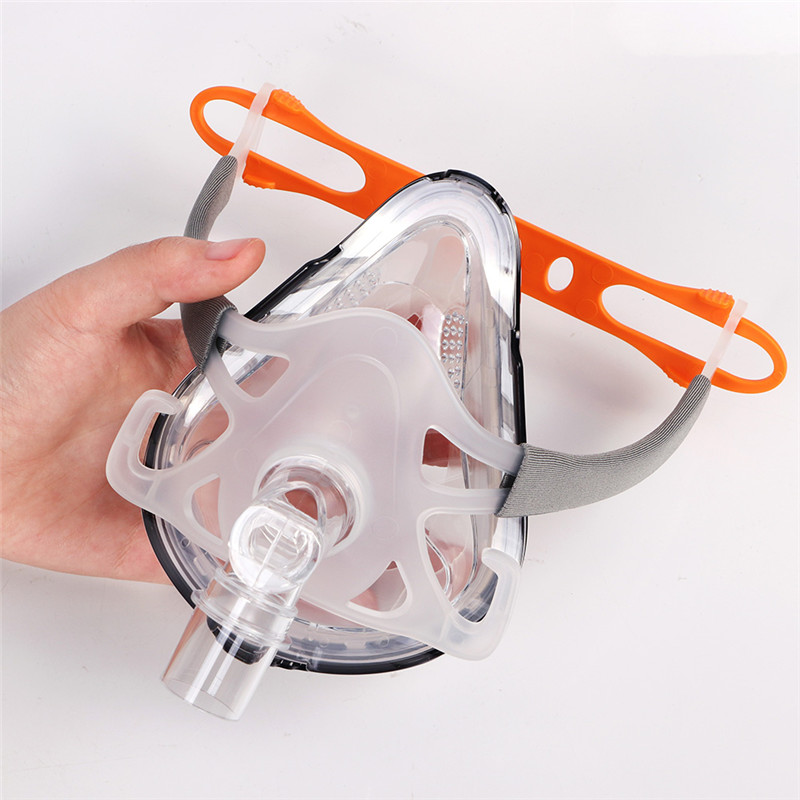 F1A Full Face CPAP Mask with Adjustable Headgear for Comfortable Respirator and Snoring Therapy 3