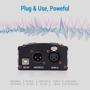 Image 5 - USB فانتوم الطاقة ل bm 800 ميكروفون ستوديو جهاز التحكم في الصوت bm800 كاريوكي مكثف ميكروفون فانتوم الطاقة ل bm 800 هيئة التصنيع العسكري