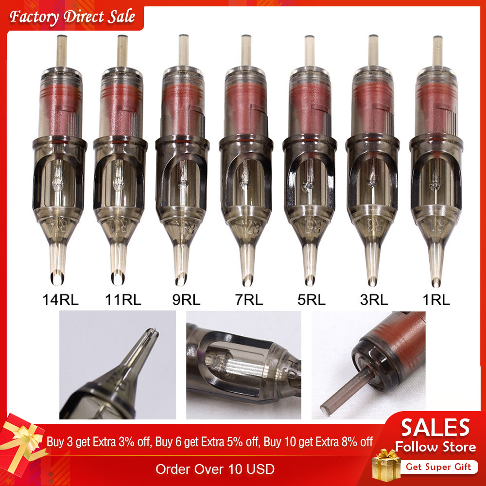 Biomaser Cartridge Machine-Supply Tattoo-Needles-Liner Eyebrow-Tattoo-Pen Disposable
