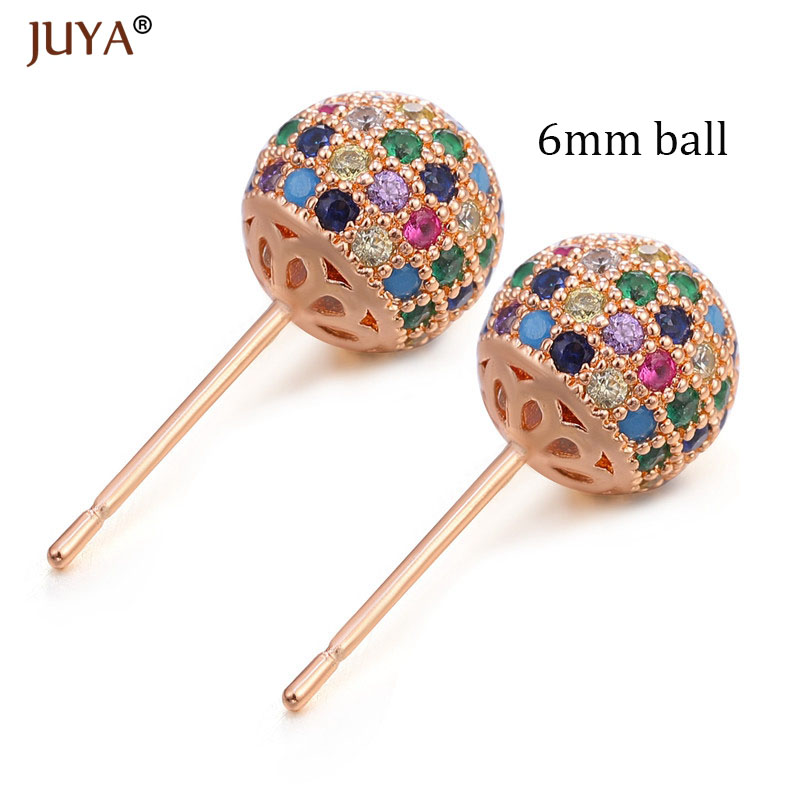 6mm ball rose gold