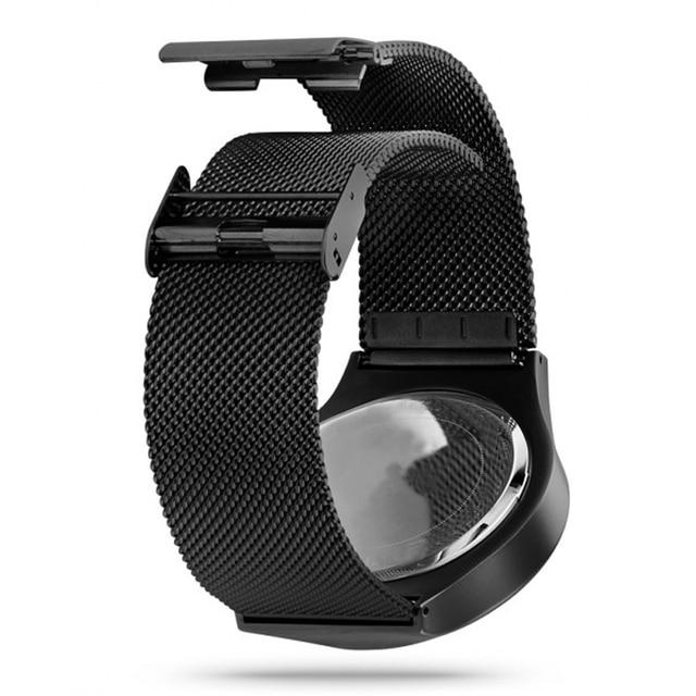 Creative Quartz Watches Men Top Luxury Brand Casual Stainless steel Mesh Band Unisex Watch Clock Male female Gentleman gift 6