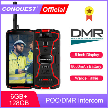 CONQUEST S12 Pro 8000mAh Android Phone IP68 Waterproof Smartphones Rugged Smartphone Cell phone Cellphones Mobile Phones Unlock