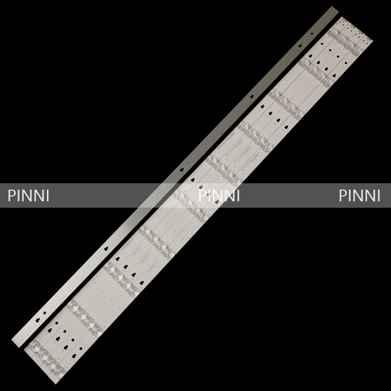 Applicable To The New Original For  Popular Fd4351a-lu Light Bar 30343010202/01 Led43d10-03 A Set Of 5 10 Lights