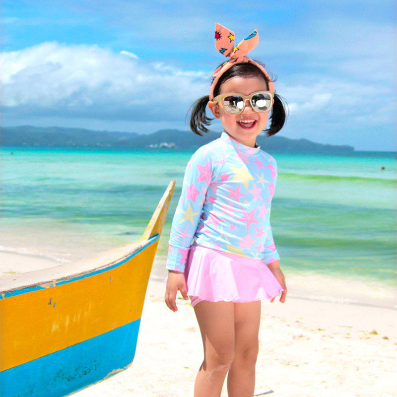 KID'S Swimwear Baby Cute Tour Bathing Suit Quick-Dry Students Men And Women Child Big Boy Two-piece Swimsuits
