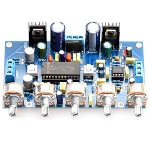 Image 4 - DIY Power Verstärker Ton Bord Spannung Verstärker LM4610 Ton + 5532 Verstärkung Front Bühne Fertig Produkte