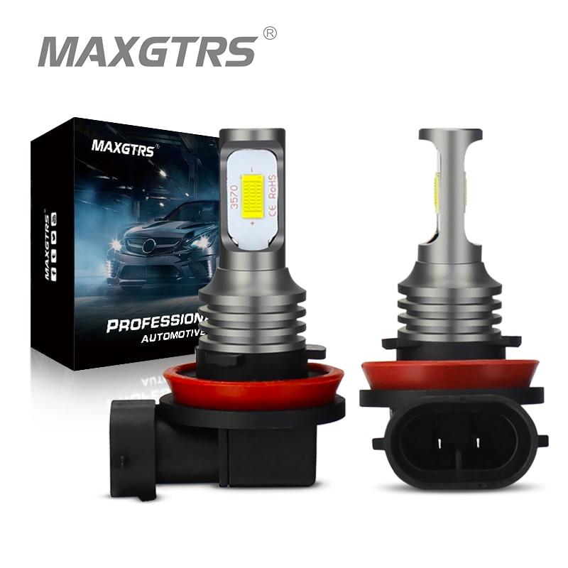 2 шт., Автомобильные светодиодные лампы H1 H3 H7 H8 H11 9005 HB3 9006 HB4 H16 3570
