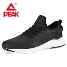 PEAK Men Retro Lightweight Walking Shoes Soft Elasticity P-MOTIVE Cushioning Casual Breathable Sport