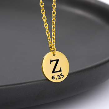 DIY Tiny Gold Initial Necklace Gold Silver Letter Necklace Initials Name Necklaces Pendant Fashion Jewelry For Women Girls Gift real sterling silver initial letter amour necklace red coral shell choker zircon name pendant for women brand monaco jewelry