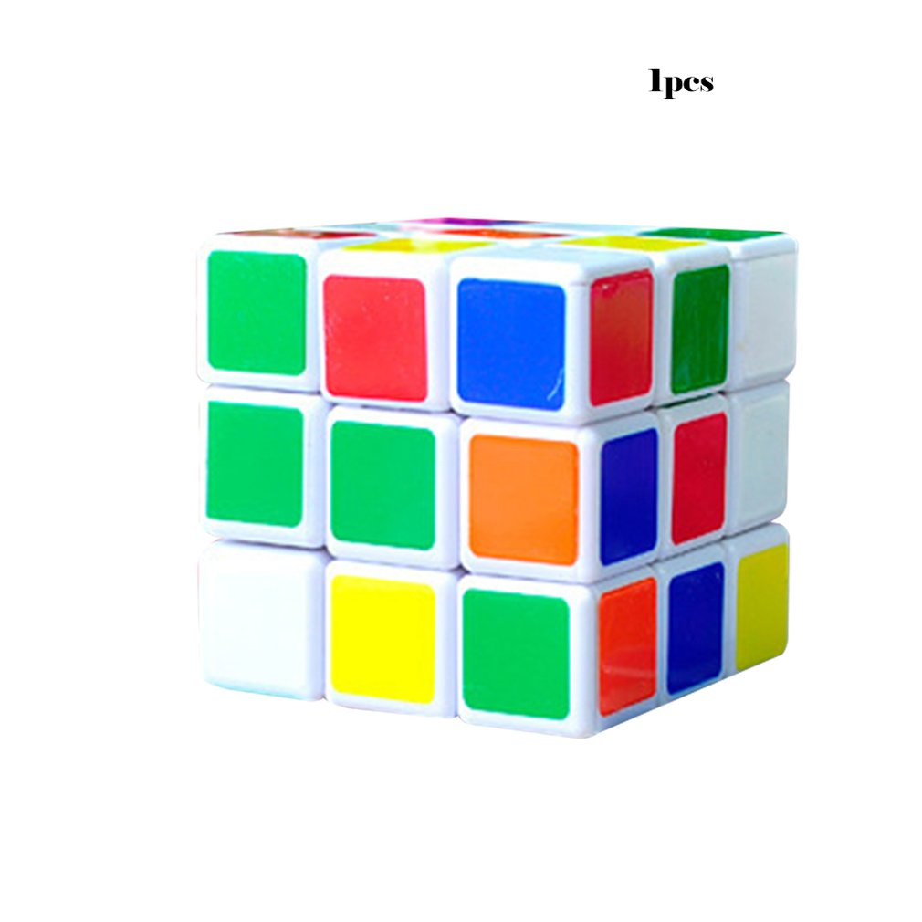 Intelligence Magic Cubes 5.5CM Cartoon Magic Cubes Toys Fast Speed Rotation Cube Toys Educational Toys