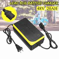 48V 20AH свинцово-Кислотное зарядное устройство для электрического велосипеда скутеры зарядное устройство s