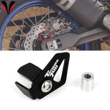 ABS Sensor Schutz Für YAMAHA TENERE700 Tenere 700 XTZ690 2019 2020 Motorrad CNC Aluminium Hinten ABS Sensor Abdeckung Protector