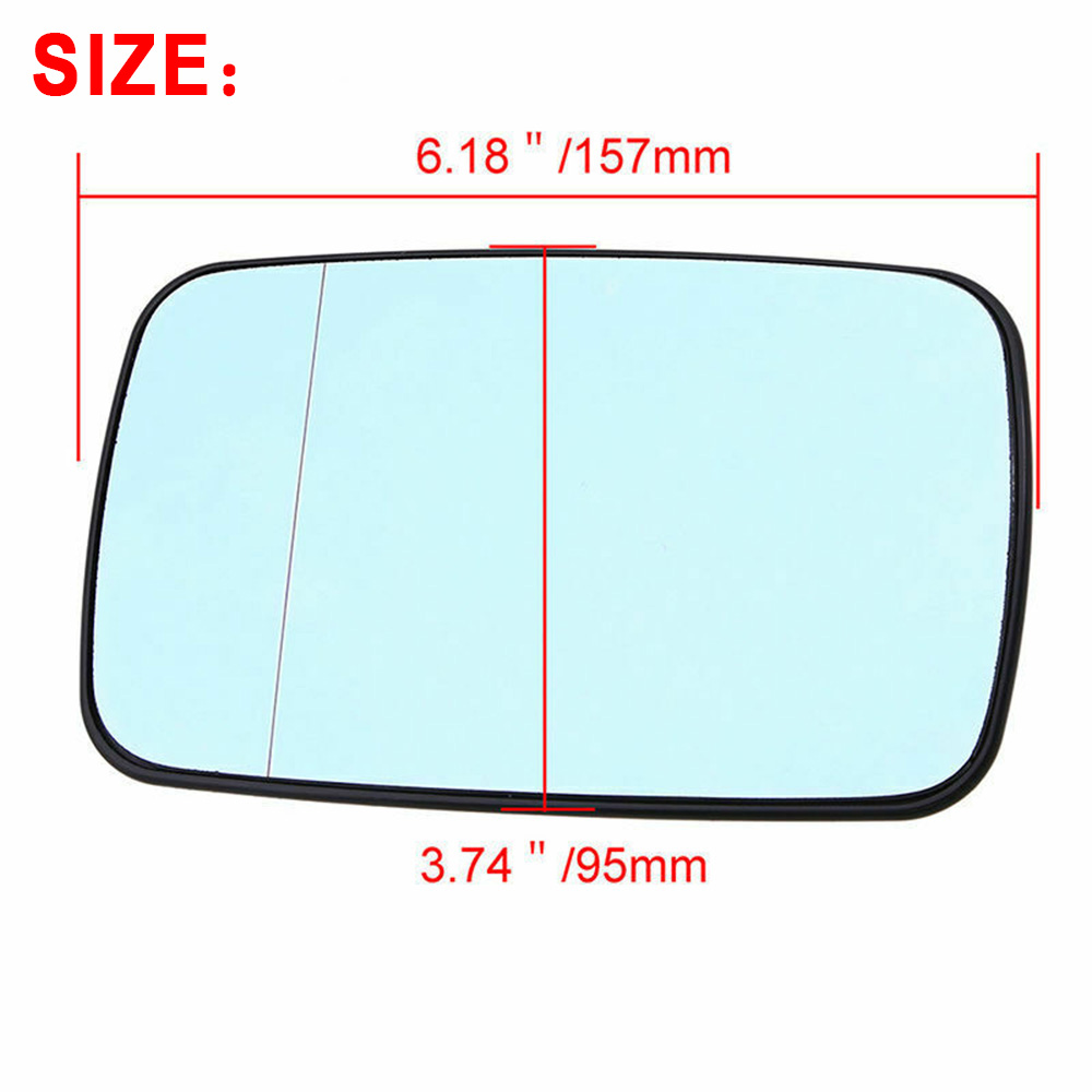 NEW Wing Mirror Glass VAUXHALL CALIBRA Passenger 90-/>