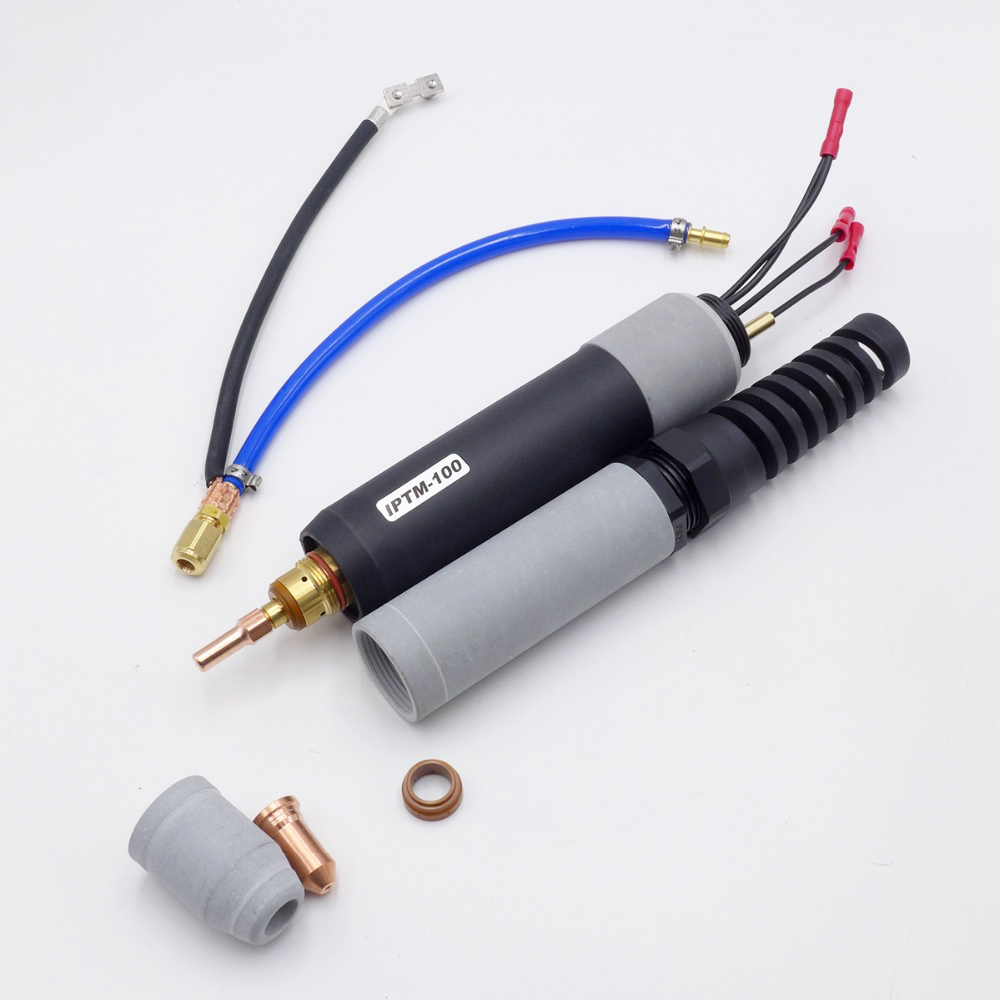 Non-HF Pilot Arc Replacement Air  Plasma cutting torch consumable  PT100 PT-100 IPT-100 IPT100 PTM-100 PTM100 torch head body