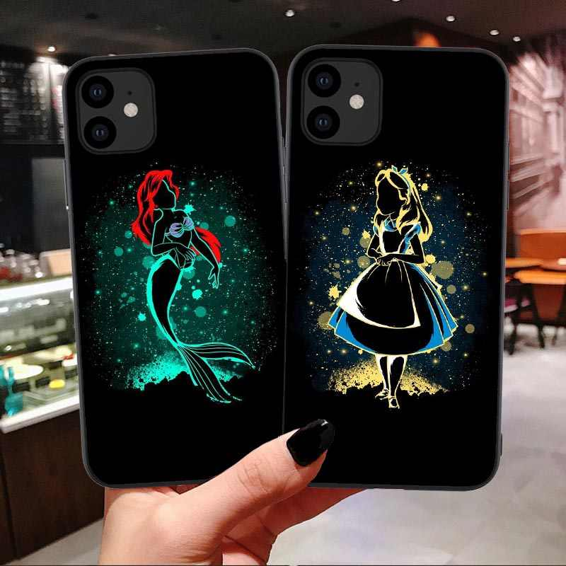 Leuke Cartoon Case Voor Iphone 11 Pro Max 5.8 6.1 6.5 Inch Stitch Little Mermaid Soft Cover Voor Iphone X 6 S 7 8 Plus Xr Xs Max