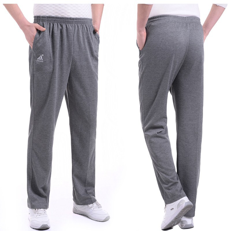 Daddy Clothes Middle Aged And Elderly People Cotton-padded Trousers Men Cotton Clothes Thick Warm-keeping Pants Old Man Pants Wi