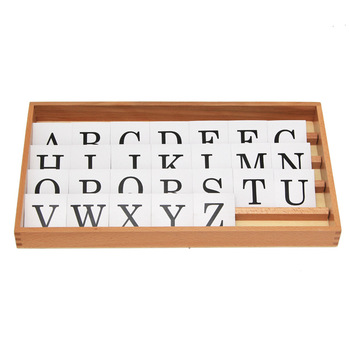 Montessori language teaching aids ABC early education cognitive word spelling kindergarten early teaching aid game children s wooden toys enlightenment early education learning card english spelling cognitive puzzle montessori teaching aids