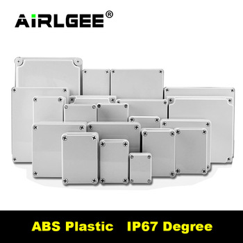 AG Series High-end Quality IP67 Waterproof DIY Electrical  Junction Box ABS Plastic RoHS Enclosure Case Outdoor Distribution Box