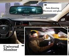 Automóveis espelho de carro escurecimento automático espelho retrovisor espelho interior anti reflexo com suporte especial para toyota honda etc estilo