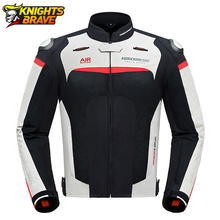 HEROBIKER Motorcycle Jacket Breathable Chaqueta Moto Protective Gear Men Moto Motocross Off Road Racing Jacket Motorbike Jacket