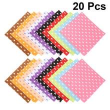 Felt-Sheets Craft-Fabric Cloud-Pattern Kids DIY No for Children 15x15cm 20pcs