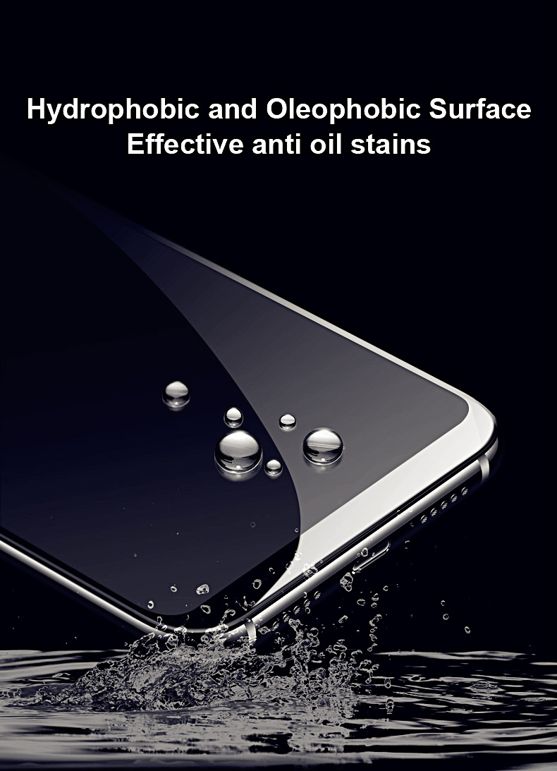 Honor 8S LGYD 25 PCS 9H 5D Full Glue Full Screen Tempered Glass Film for Huawei Y5 2019