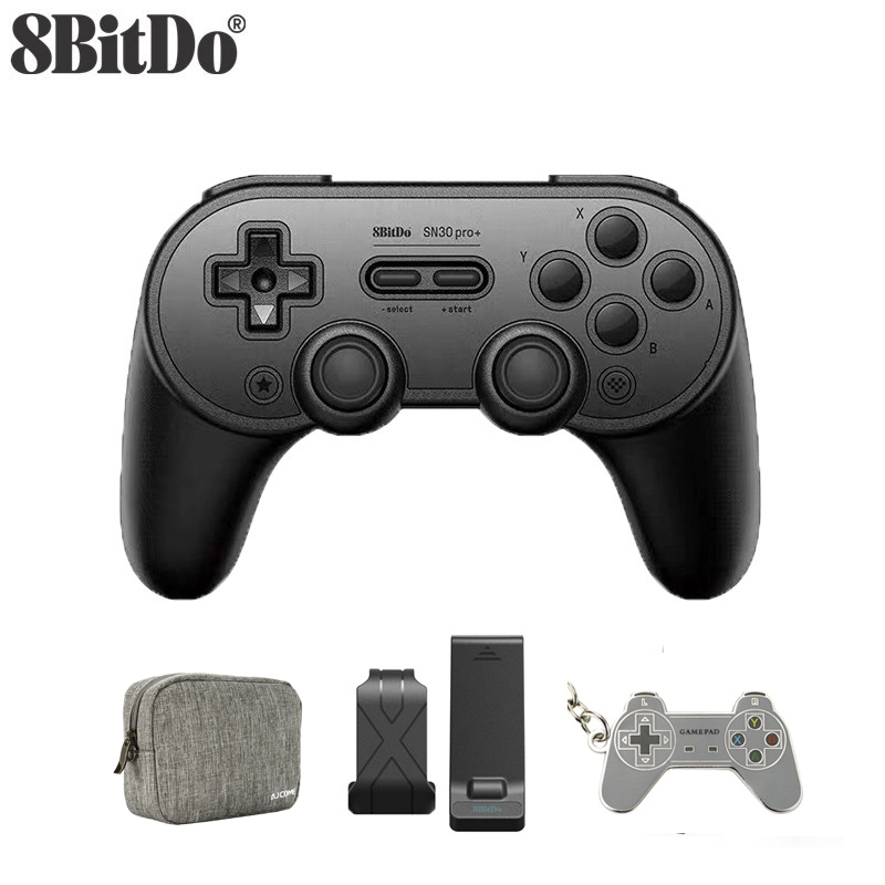 8Bitdo SN30 Pro  Bluetooth wireless  Gamepad Controller 8bitdo SN30 Pro plus for Windows Android macOS Nintendo Switch Steam