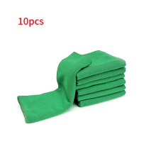 Onever 10pcs Microfiber Clean Auto Car Detail Soft Cloths Towels 25*25cm Home Kitchen Cleaning Tool Car Wash