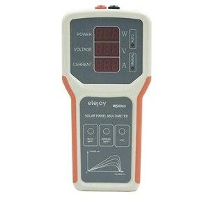 Умный мультиметр MPPT для солнечной панели, тестер солнечной панели, измеритель мощности для тестирования VOC WS400A