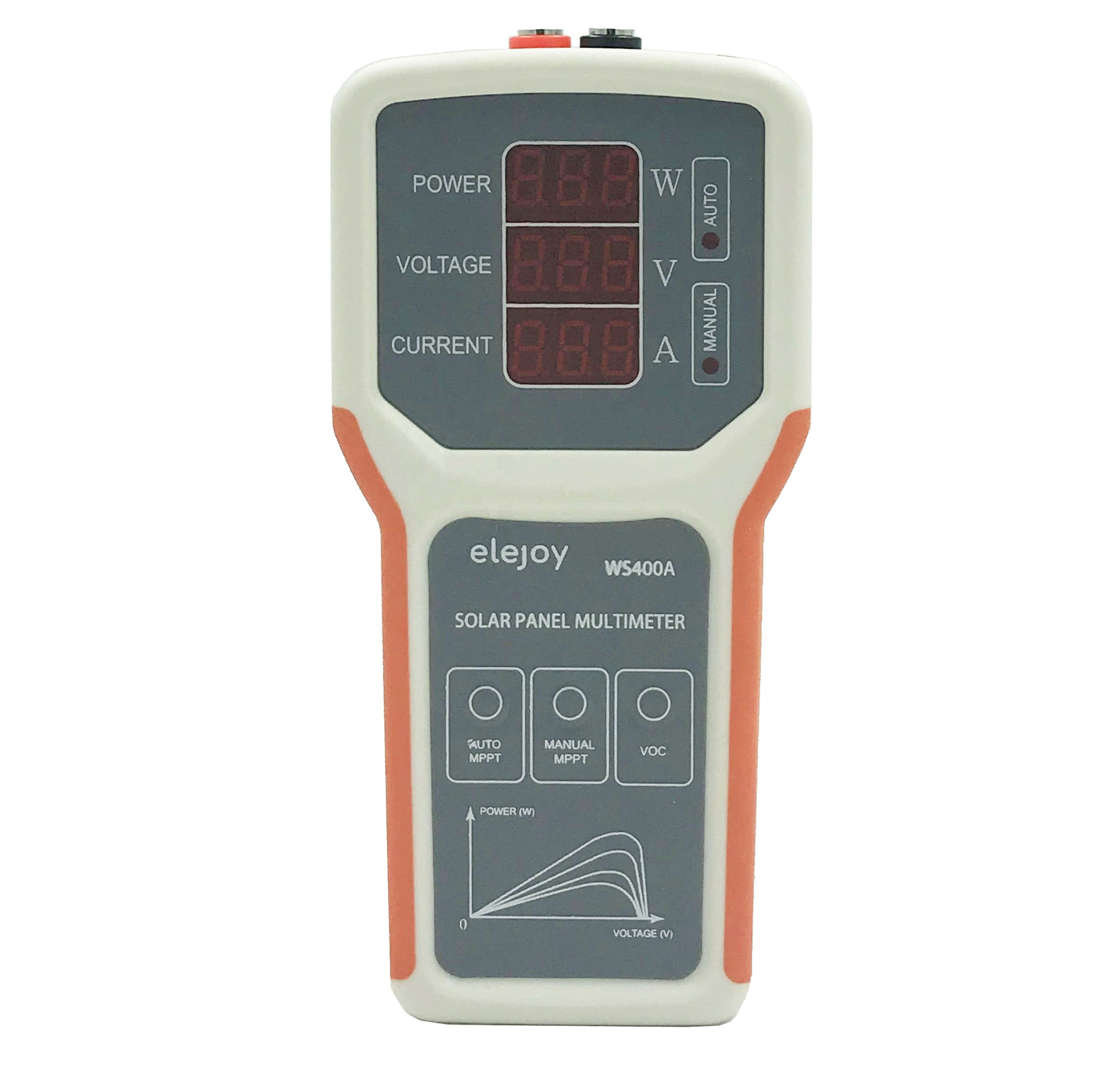 Smart MPPT Solar Panel Multimeter For Energy Systems Solar Panel Tester VOC Testing Power Meter WS400A