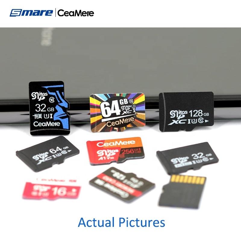 Custom Logo Wholesale Real Capacity Memory Card 50PCS 32GB 16GB 8GB 64GB 128GB 256GB Micro SD Card Class10 U1 U3 SD Original Mem 2