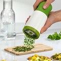 Садовая кухонная дробилка для специй Терка мельница-Дробилка Измельчитель сыр  овощи