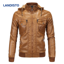 Landisto зимняя плотная одежда для мужчин Теплая мужская куртка