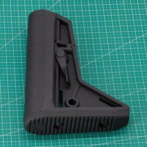 Image 5 - 屋外の戦術的なゲーム機器エアガン空気銃 jinming 8 Gen9 M4 AR15 ナイロンリアバットモデルライフルペイントボールアクセサリー