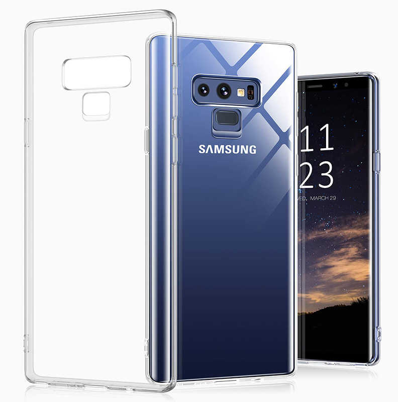 Funda de TPU suave transparente para Samsung Galaxy S9 S10 Plus 5G funda de teléfono funda de silicona para Galaxy Note 10 Pro Clear Case