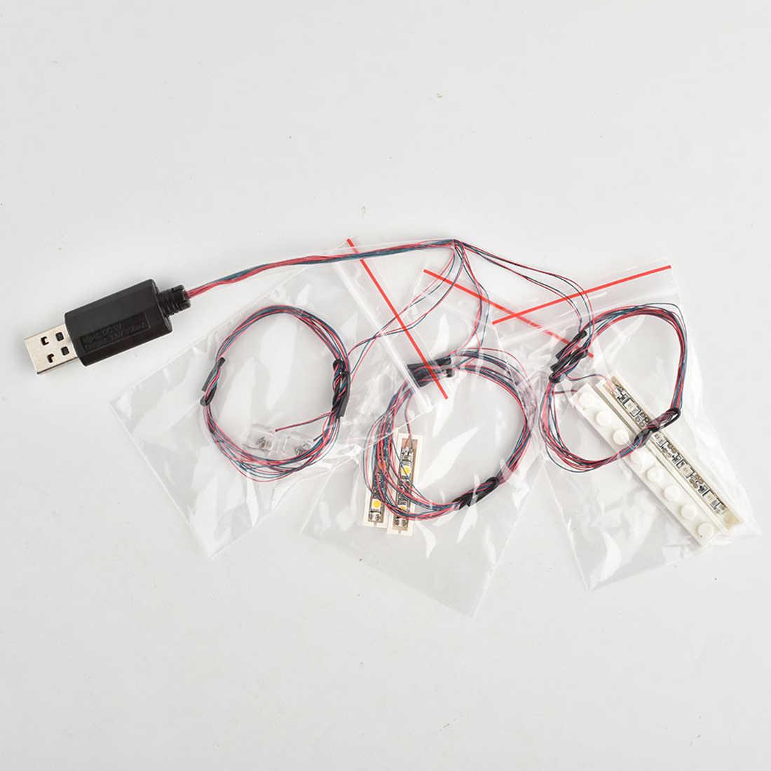 Kit de iluminación LED USB para figma 21310 (solo luz LED, sin juego de bloques)
