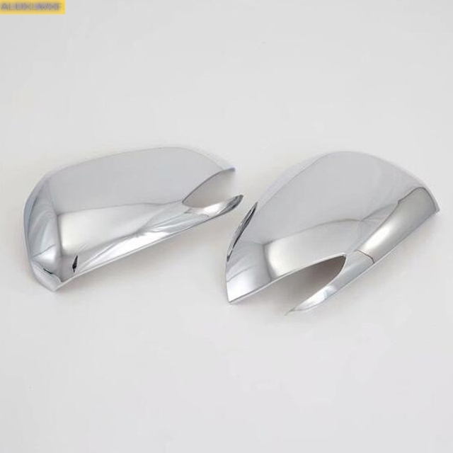 Outside Door Rearview Mirror Decoration Protector Shell Covers Trim Housing for Hyundai Santa Fe IX45 2019 2020 Car Accessories 3