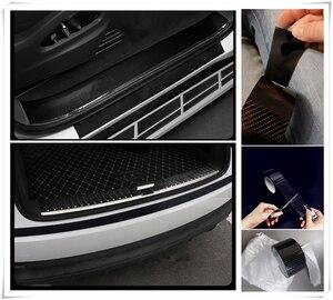Accesorios universales para coche, pegatinas, parachoques de fibra de carbono anti-paso para motores GMC Mahindra Hino Lincoln Cadillac Acura Tata