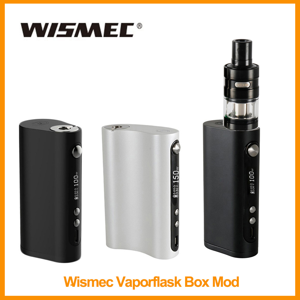 Clearance Original Wismec Vape Forward Vaporflask Stout TC Box Mod Output 100w TC/VW/Bypass Vs Wismec R80/Sinous P80 E-Cig
