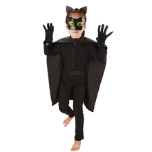 Horror Costume Monster Cat Halloween Costumes for kids Scary Noir  Dress Creepy Demon Jumpsuit Devil