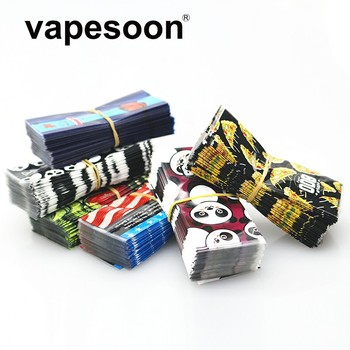 100pcs VapeSoon High quality  20700 21700  battery wrapper sticker 6 patterns in stock fast shipping