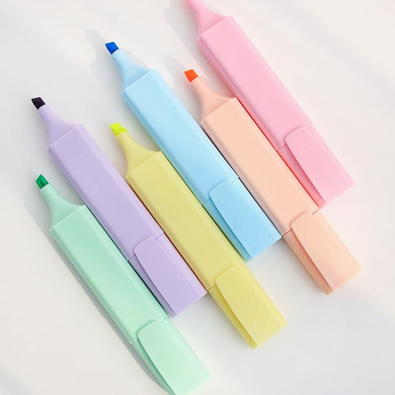 Good Looking Highlighter Marker Pen Fluorescent Highlighter For Drawing Highlight Paper Fax Office School Supplies DB020