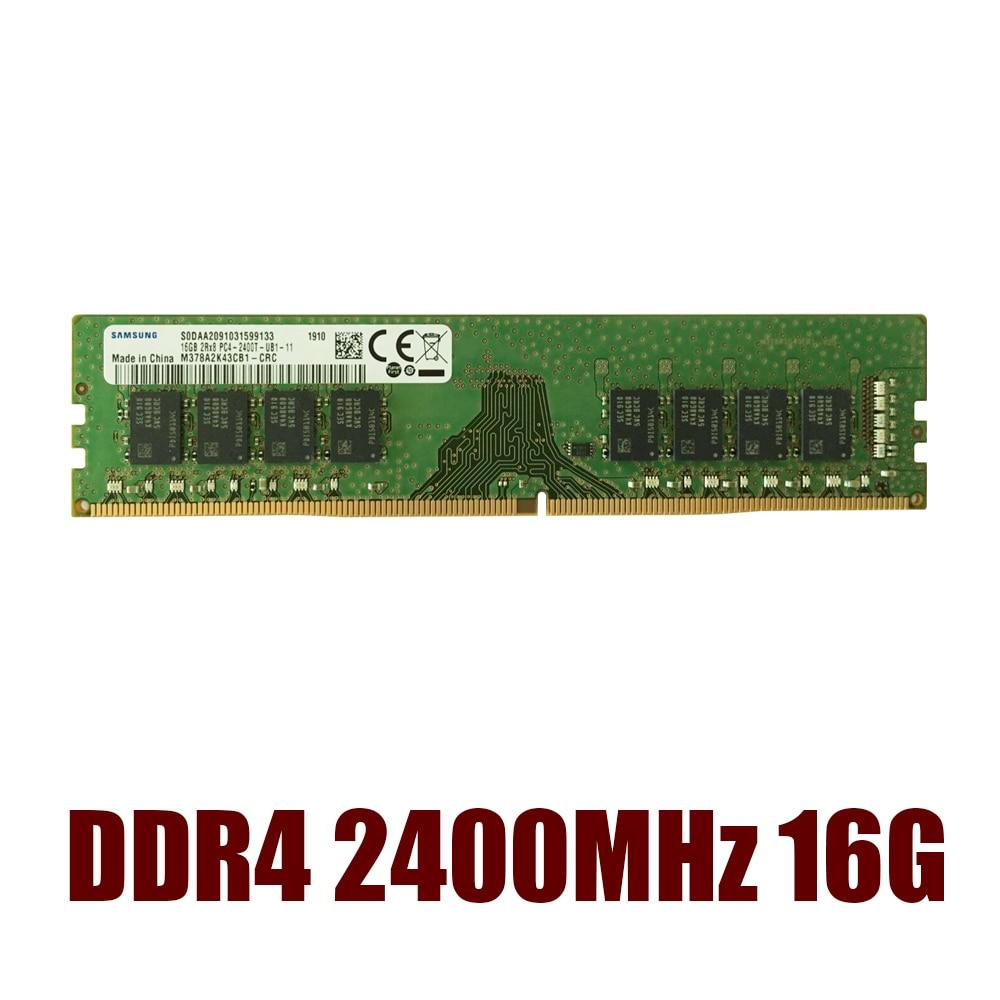 New Samsung DDR4 RAM 4GB 8GB 16GB PC4 2133MHz 2666MHz PC4-19200/21300 8g 16g Memory Module One Year Warranty Desktop RAM