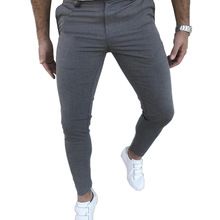 New Men's Slim Fit Casual Pants Joggers Sweatpants Social Wi
