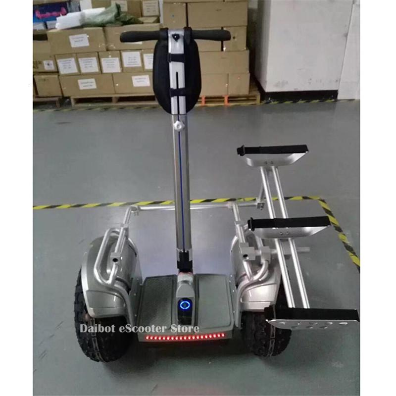 New Off Road Electric Scooter Personal Golf Carts 19 Inch Self Balancing Hoverboard 2400W Electric Golf Scooter With GPSAPP (8)