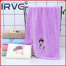 High Density Towel Coral Velvet Absorbent Fiber and Pure Cotton Soft Beach Kitchen Color Ultrafine